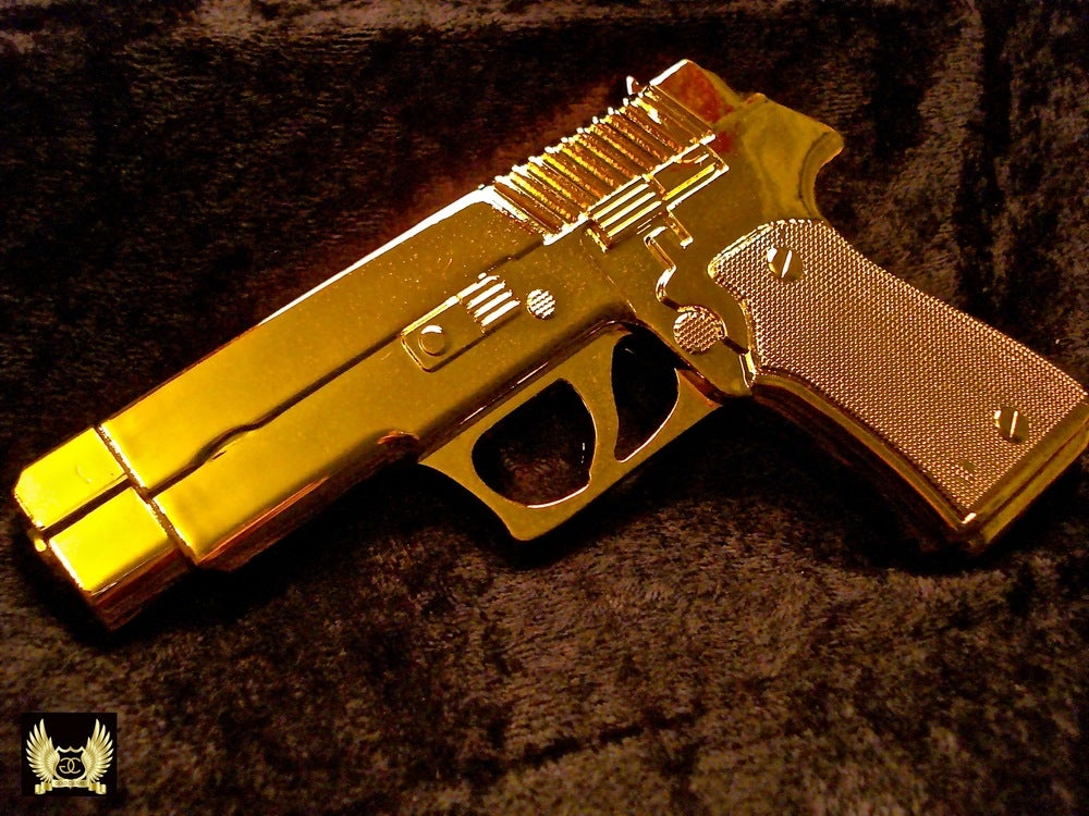 Image of Gold Pistol