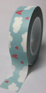 Image of *NEW* Washi Tape CLOUDS & HEARTS