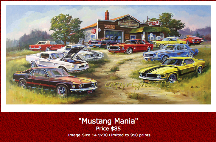 Image of DALE KLEE - MUSTANG MANIA