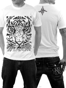 Image of Tigerface - Calligraphic Print - Mens Fit