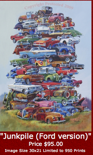 Image of DALE KLEE - FIFTIES JUNKPILE FORD
