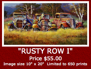 Image of DALE KLEE - RUSTY ROW I