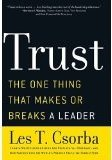 Image of Trust: The One Thing That Makes Or Breaks A Leader - Les T. Csorba