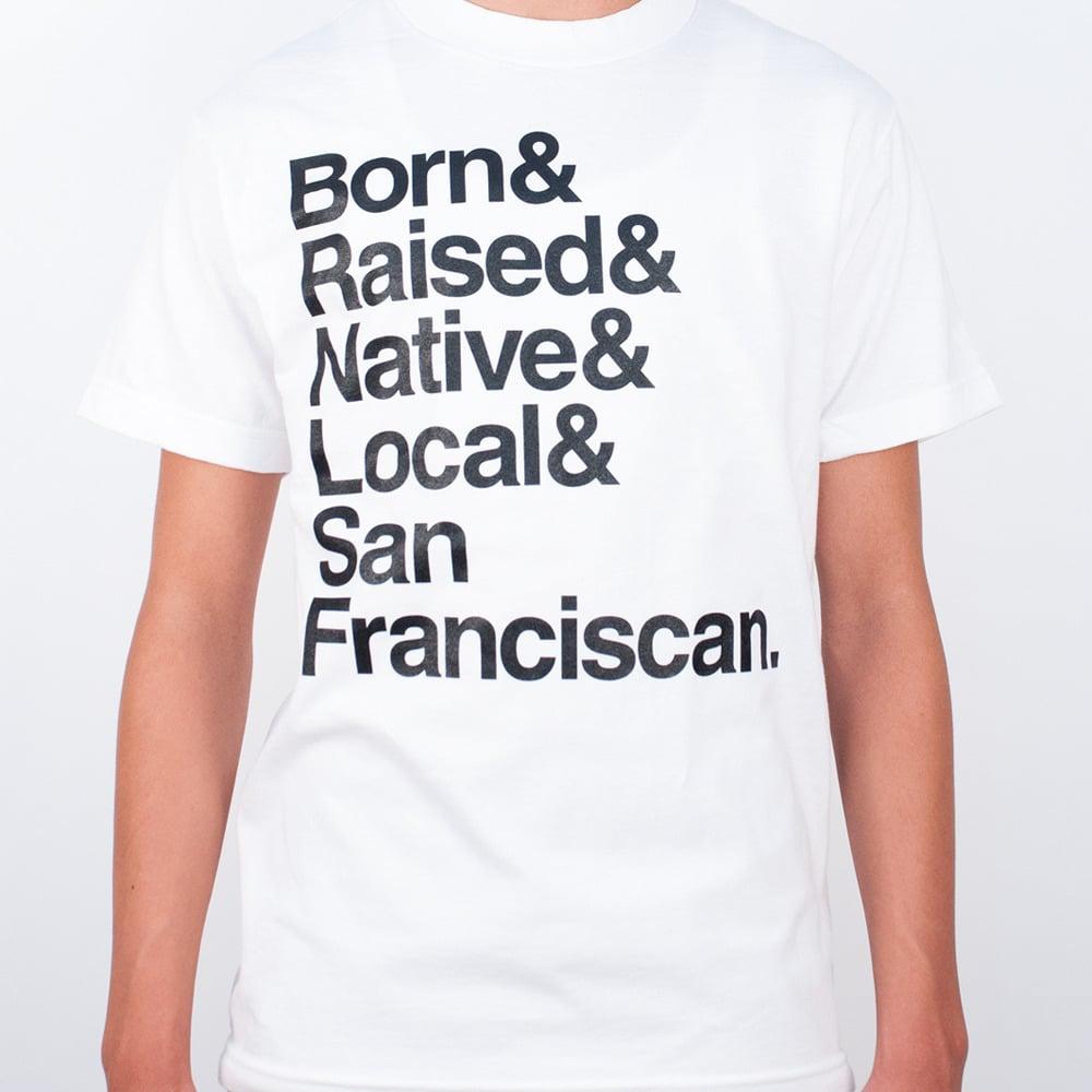 Image of Born & Raised & Native (white)