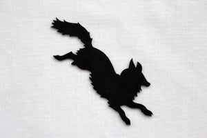 Image of Fox Silhouette Brooch