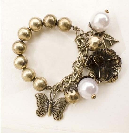 Image of Pearl Alloy Bracelet For Women