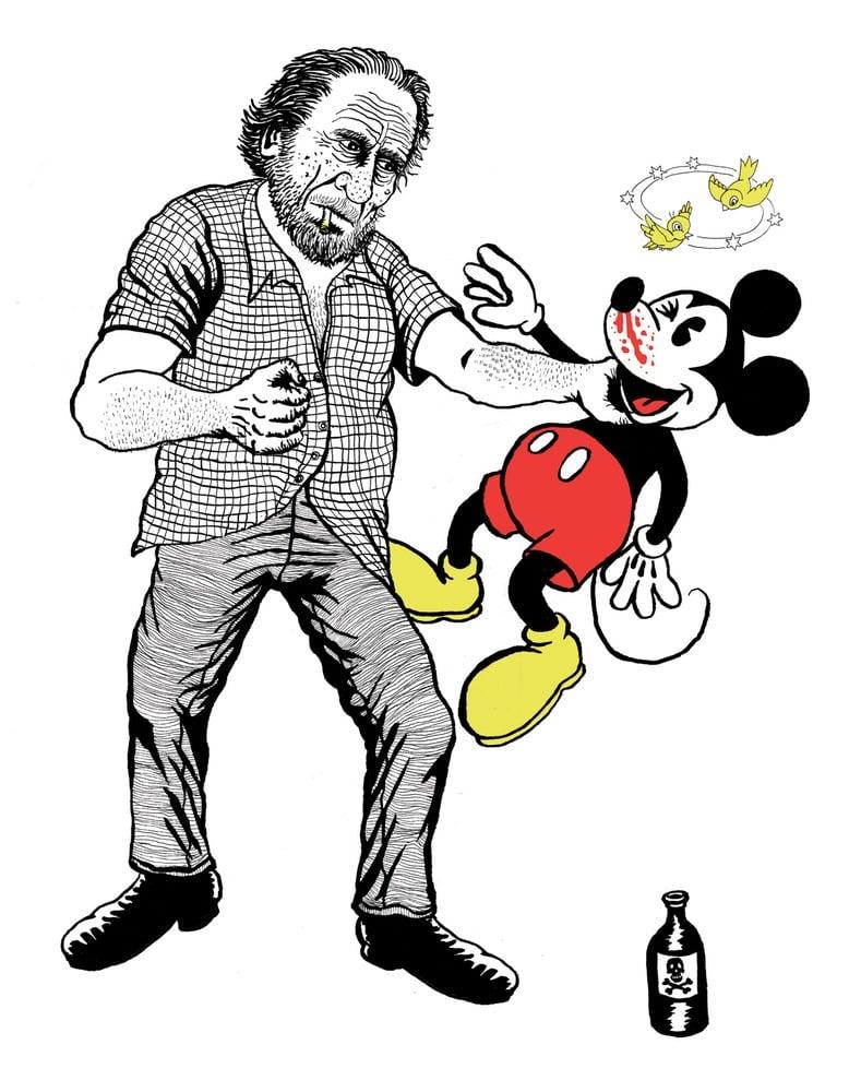 Image of Bukowski vs the Three Fingered Bastard