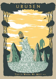Image of This Is Where We Meet Screenprint