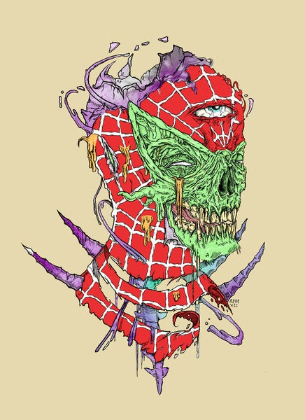 Image of Print 'Zombie Sense'