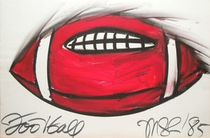 Image of Football drawing, 1985