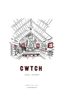 Image of fforest cymraeg prints: 'cwtch'