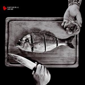 Image of  Brenk X Fid Mella - Hi-Hat Club Vol.4 - Chop Shop - LP (MELTING POT MUSIC)