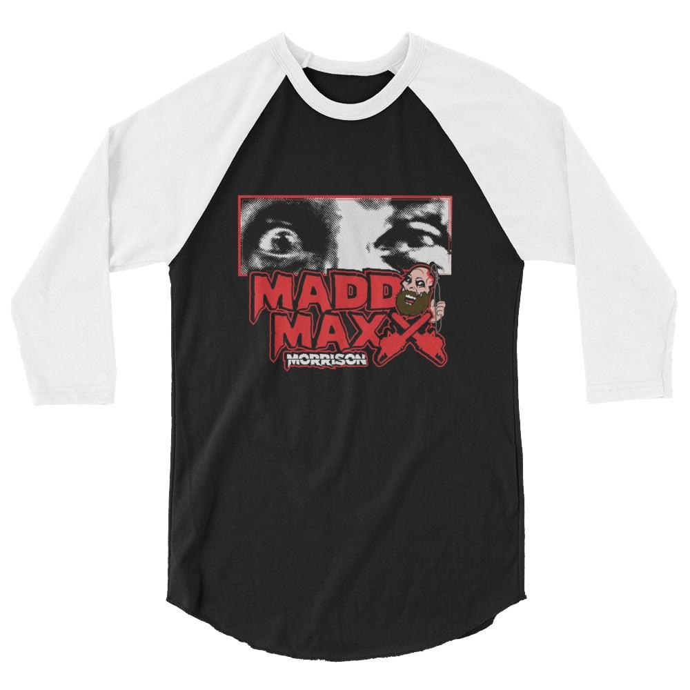 MADD EYES 3/4 sleeve raglan shirt