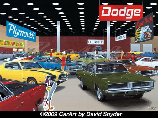 Image of AUTO SHOW 1969