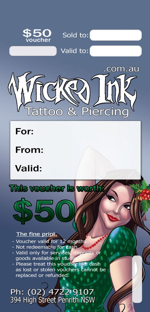 Image of $50 Christmas Voucher