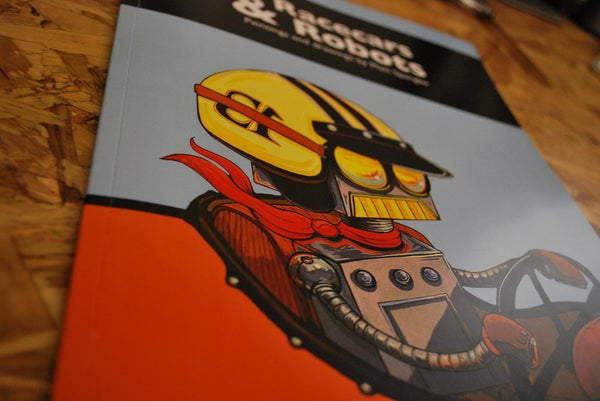Racecars and Robots: The Book - Matt Q. Spangler Illustration