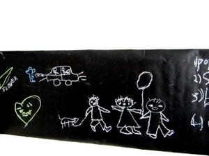 chalkboard wall decal (90 X 350cm)