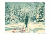 Image of snowwoman, print-The Igloo Collection # 4