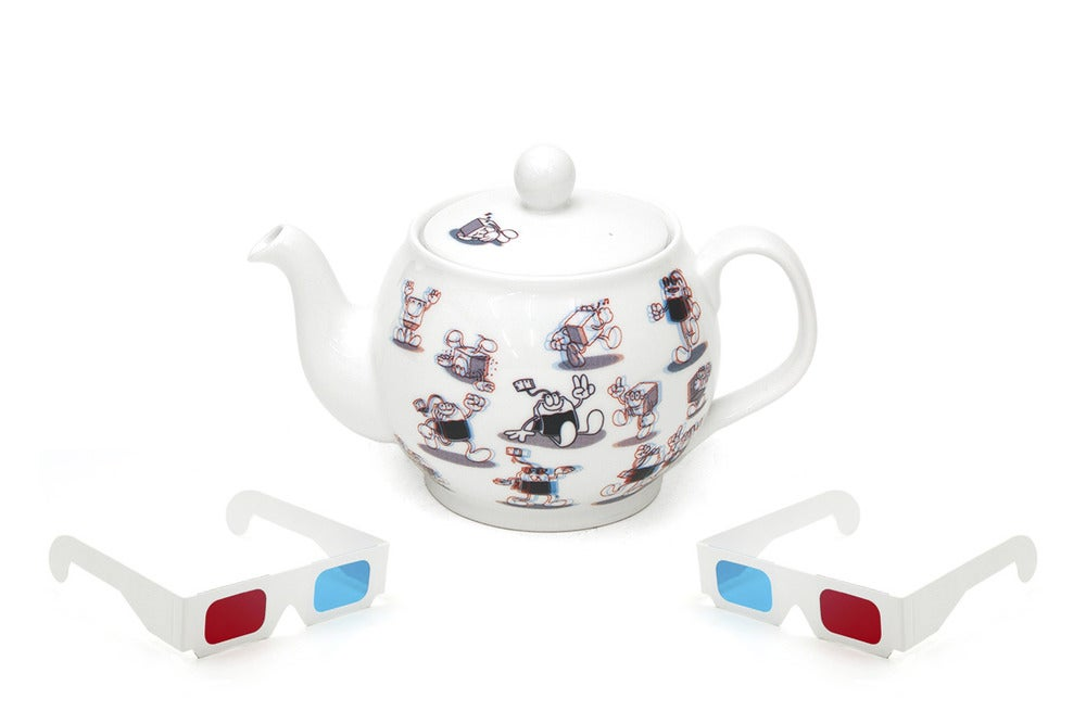 Image of Threedee Tea Pot by Jiro Bevis for JaguarShoes Collective