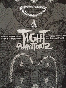 Image of Tight Phantomz Silk Prison Release silk-screened show poster
