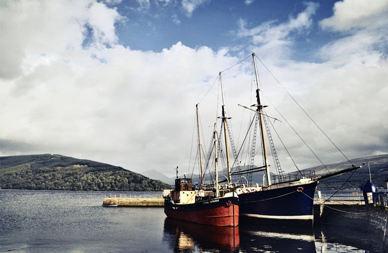 Image of At Inverary (colour)
