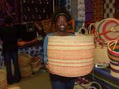 Image of Large African Basket