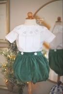Image 3 of Christmas Tree Portrait Collar Heirloom