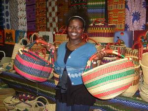 Image of Round Ghana Basket