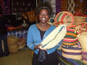 Image of Long Wide Basket