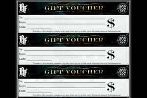 Image of Gift Vouchers $50