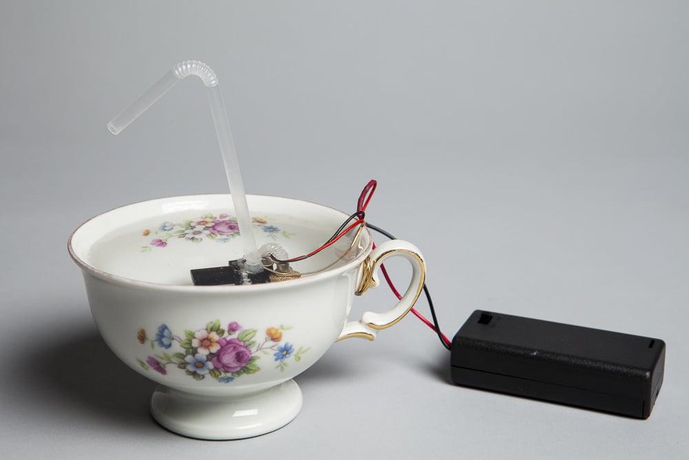 Josh Baum, <i>Tea cup</i>, 2011