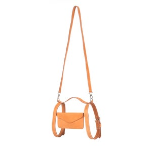 Image of Leather Crossbody Holster in Suntan