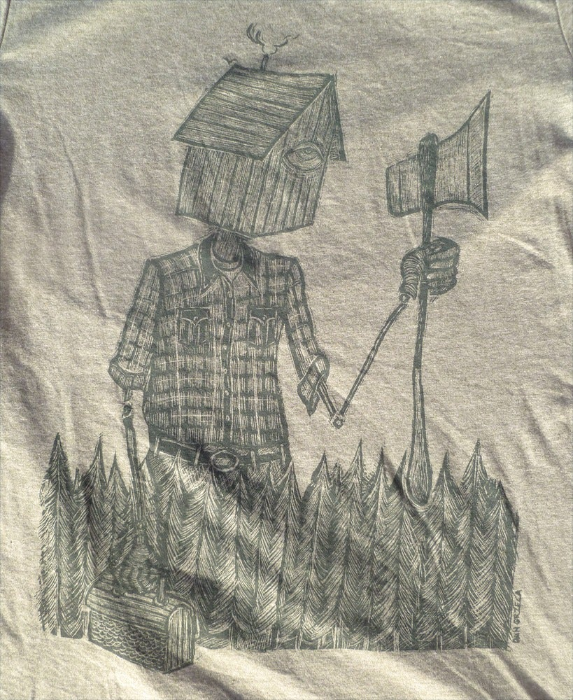 Reluctant Woodsman Shirt - Heather Army Green