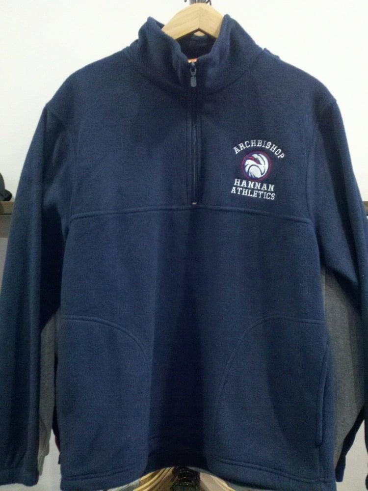 Image of Hannan 1/4 Zip Fleece