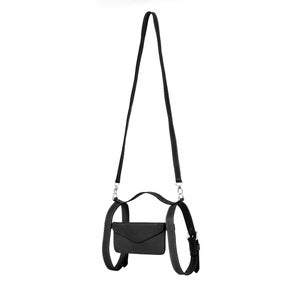Image of Leather Crossbody Holster in Black