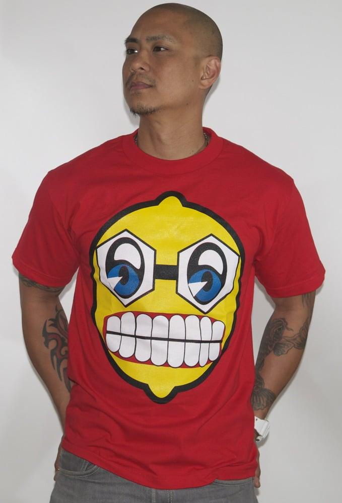 Image of mad lemon head t-shirt