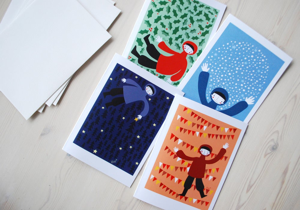 Image of Noël 2012 - lot de 4 cartes