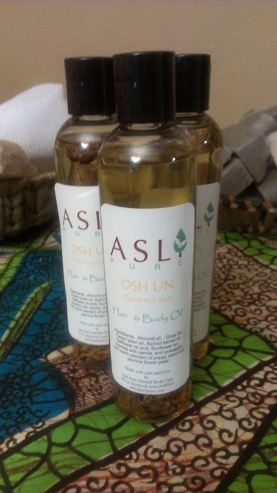 Image of Oshun Hair & Body Oil