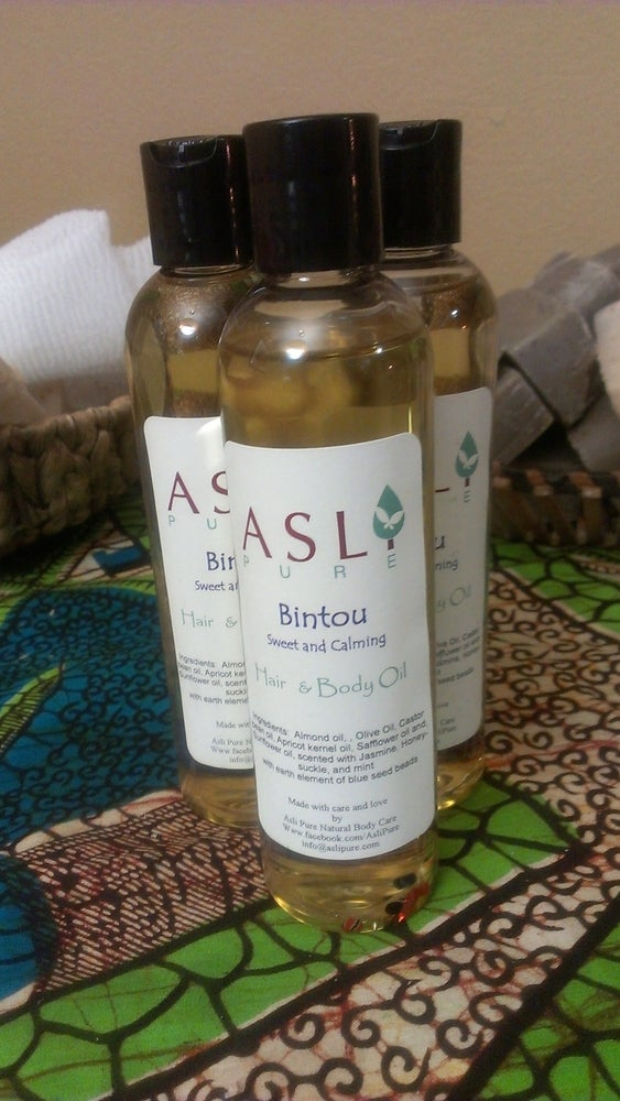 Image of Bintou Hair & Body Oil