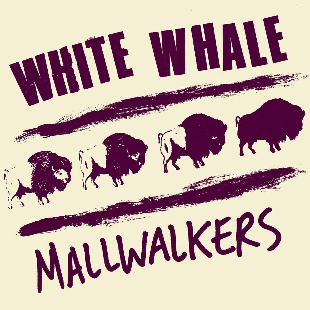 "Image of White Whale / Mallwalkers ""Split EP"" 7"""