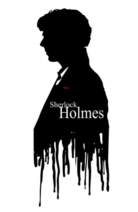 Image of Sherlock Bust Silhouette
