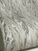 Marbled Paper Black & White - 1/2 sheets