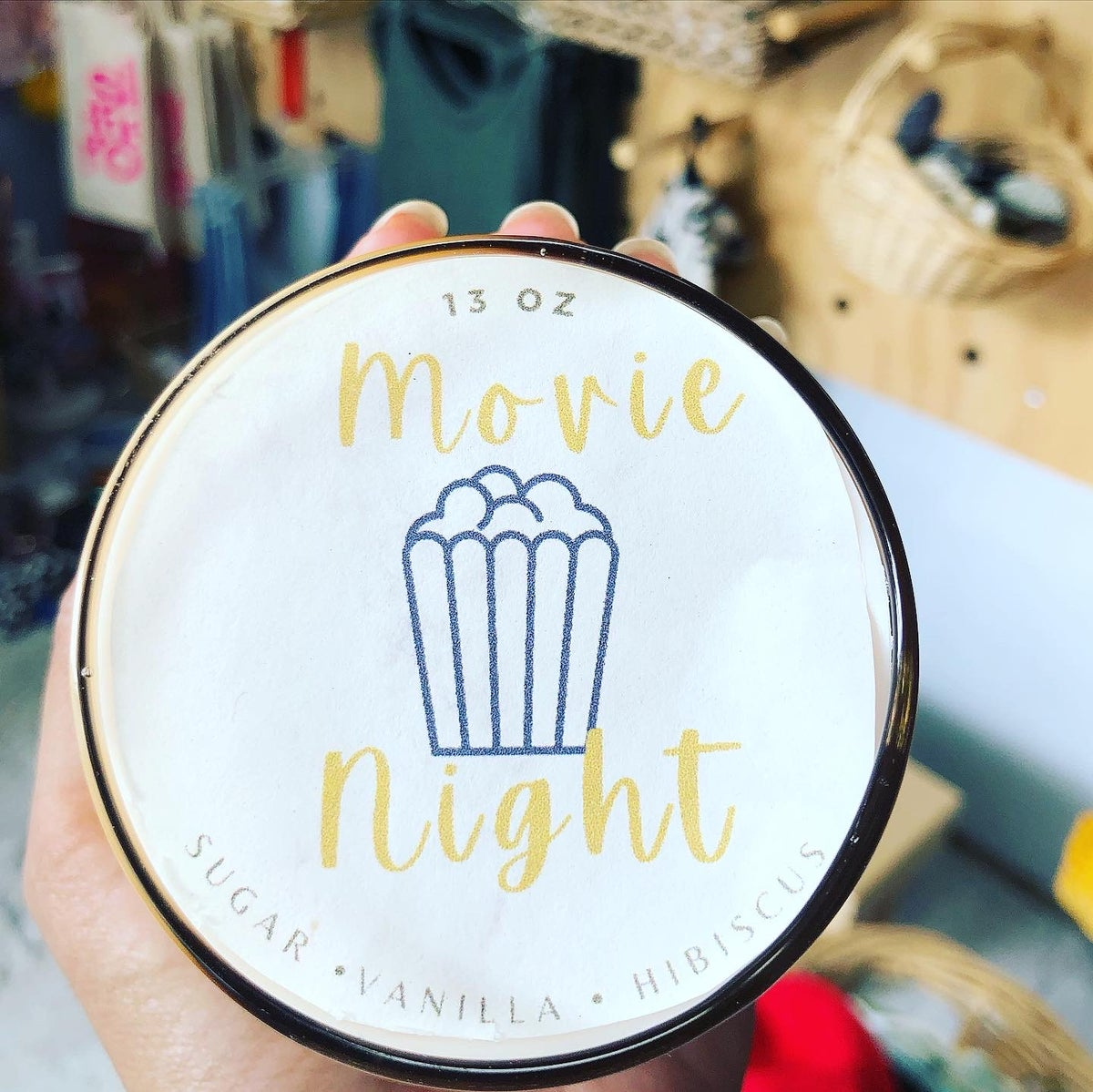 Image of Movie Night Hand Poured Candle 🍿