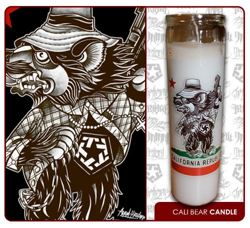Image of Cali Bear Candle from Tribal Gear