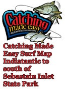 Image of Catching Made Easy Surf Map Indiatantic to South of Sebastain Inlet State Park