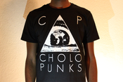 Image of Cholo Punks Logo T-Shirt