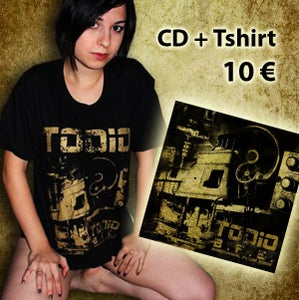 Image of T Shirt + album B.F.E.