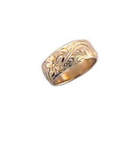 Image of 8mm Hawaiian Classics Ring, Sizes 9 1/2-11