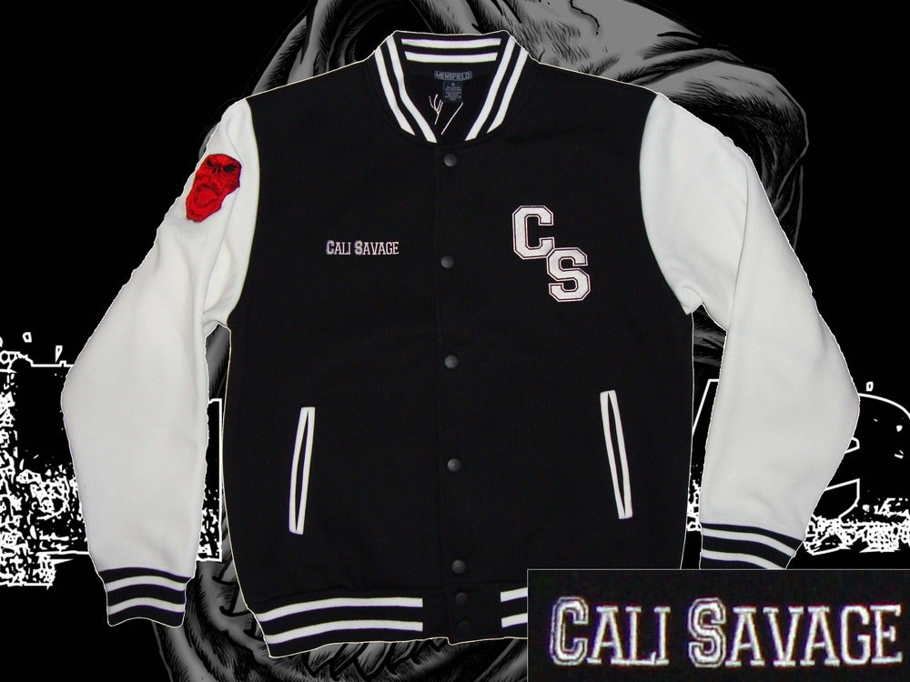 Image of Varsity Jacket - CS/Cali Savage
