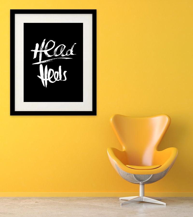 Image of Head over Heels - Black
